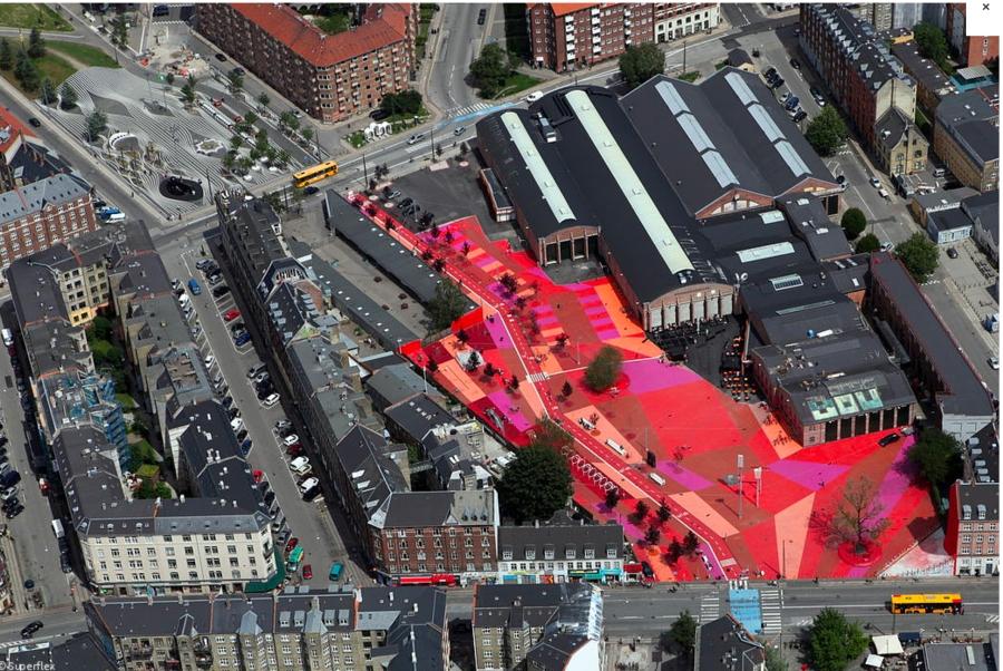 Superkilen-Roter Platz Kopie